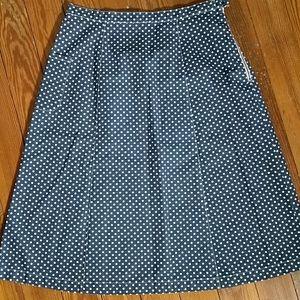 Anthropologie Utility Canvas Skirt